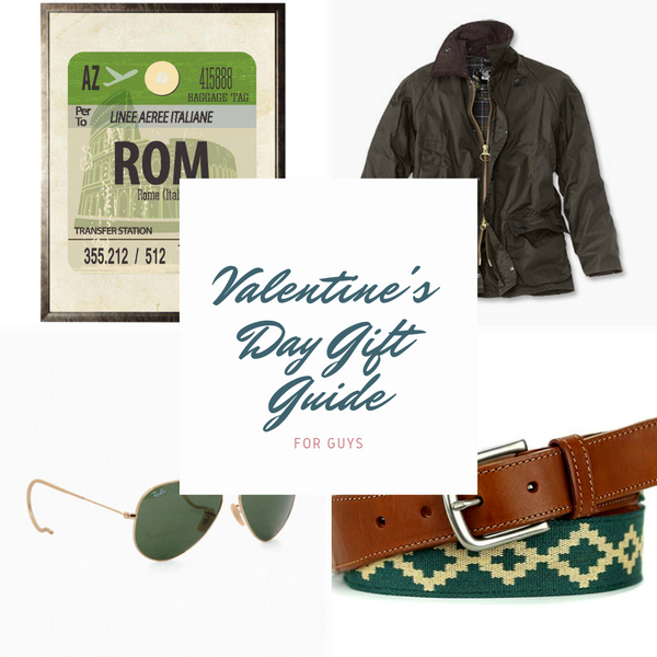 Valentine's Gift Guide for Guys