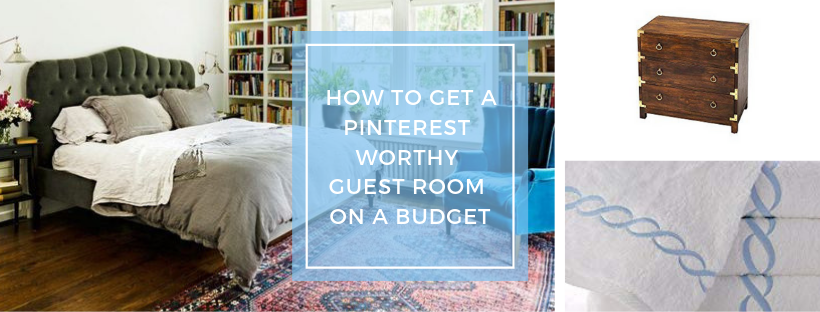 Get a Pinterest-Worthy Guest Bedroom on a Budget