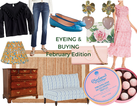 Eyeing and Buying: February Edition