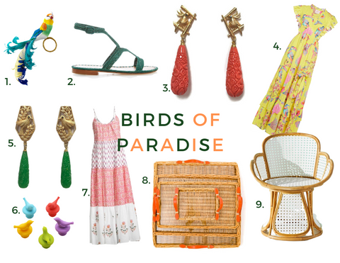 Wednesday Inspo 5/19: Birds of Paradise