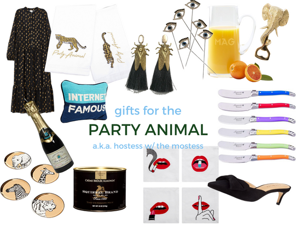 Cass Dickson Hostess Party Animal Gift Guide