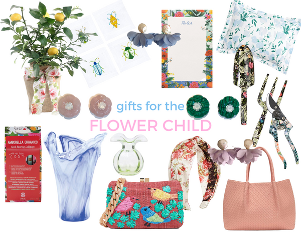 Cass Dickson Gift Guide Flower Child Gardener Floral Gifts Christmas Gifts Holiday Hannukah