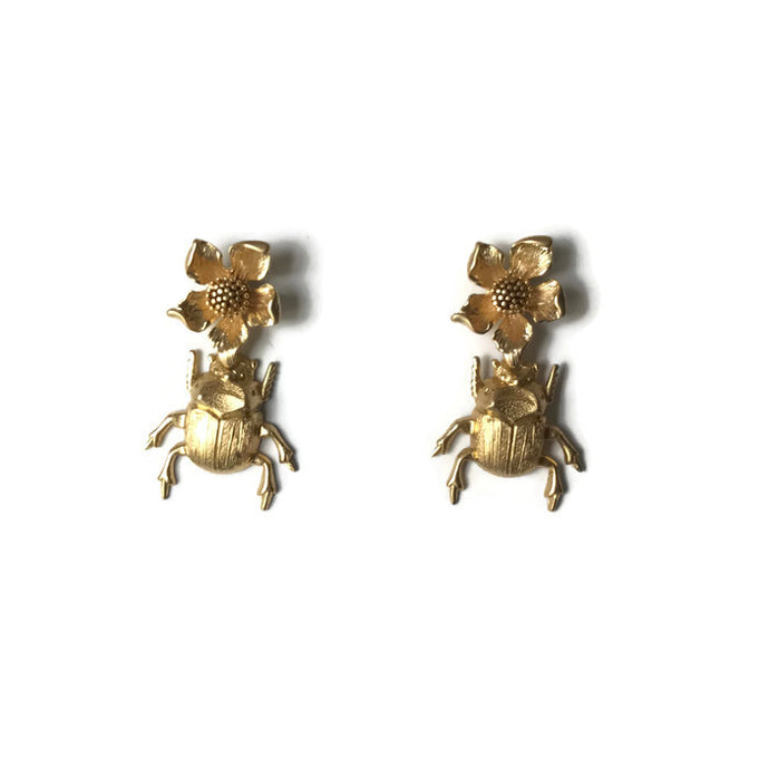 Escarabajo Earrings