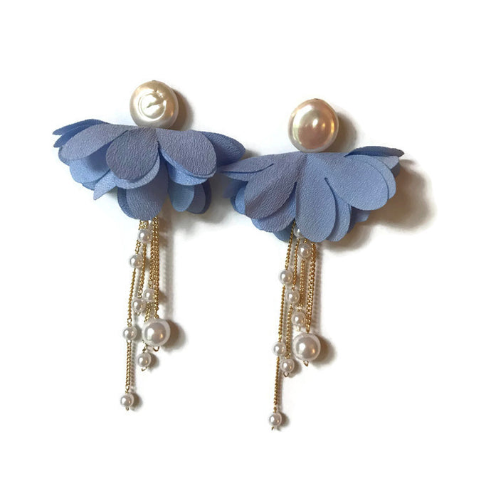 Primrose Tassels - Light Blue