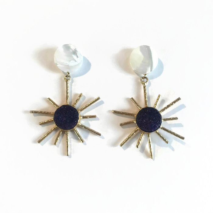 Sol Earrings - Midnight