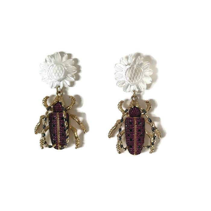 Critter Earrings - Pink