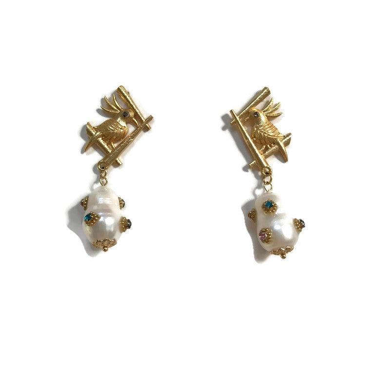 Petit Oiseau Earrings