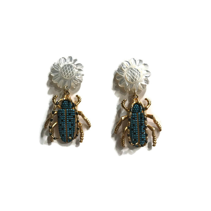 Critter Earrings - Turquoise