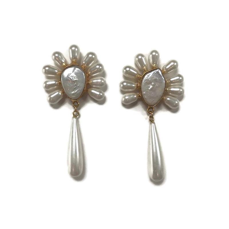Preppy Pearl Statement Earrings from Cass Dickson