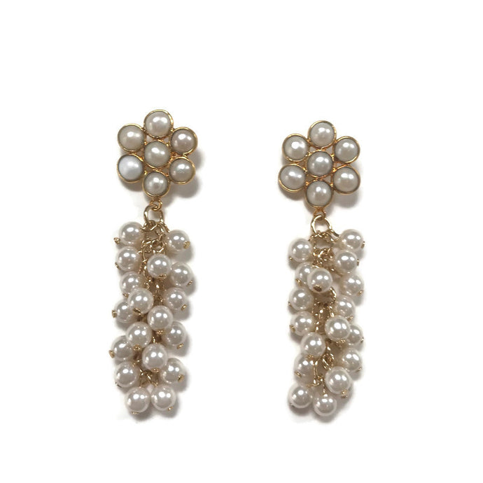 Preppy Statement Pearl Earrings from Cass Dickson