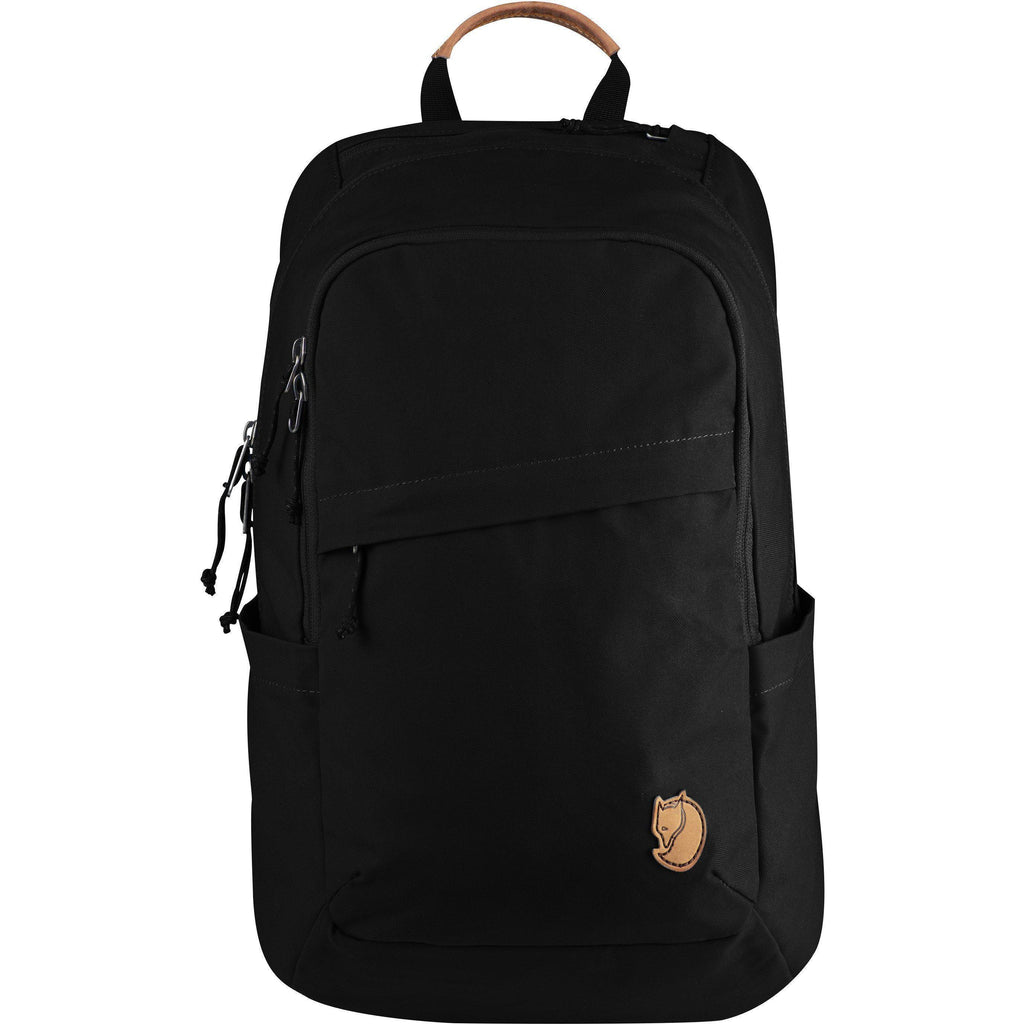 Fjallraven Raven 20 Backpack | Black-Backpack-Fjällräven-GetOutland.com