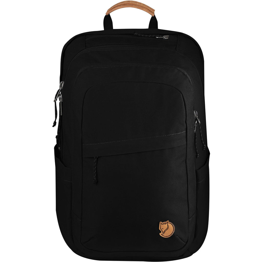 Fjallraven Raven 28 Backpack | Black-Backpack-Fjällräven-GetOutland.com