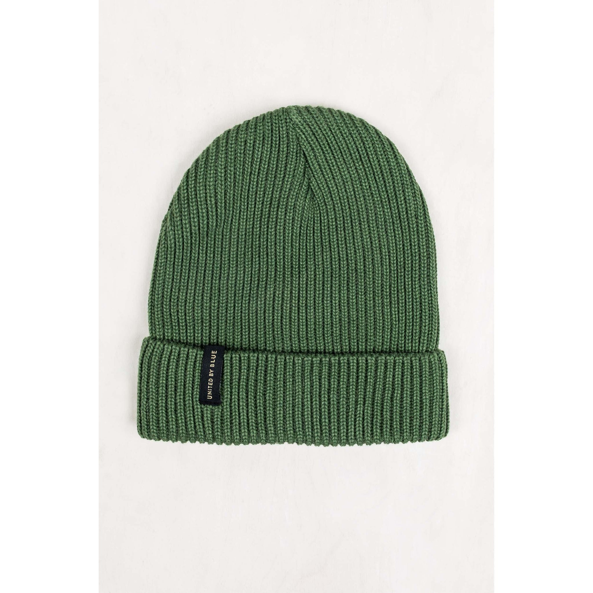 United By Blue Mariner Beanie-Apparel-United By Blue-Green-GetOutland.com