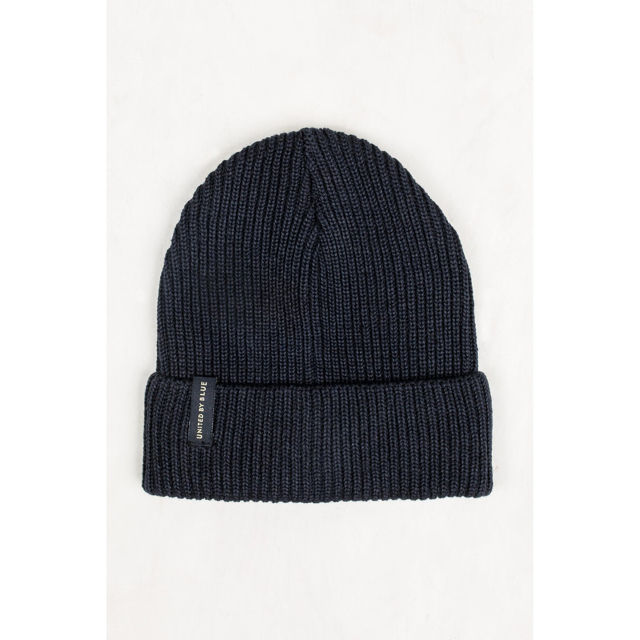 United By Blue Mariner Beanie-Apparel-United By Blue-Navy-GetOutland.com