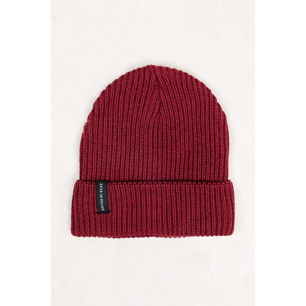 United By Blue Mariner Beanie-Apparel-United By Blue-Red-GetOutland.com