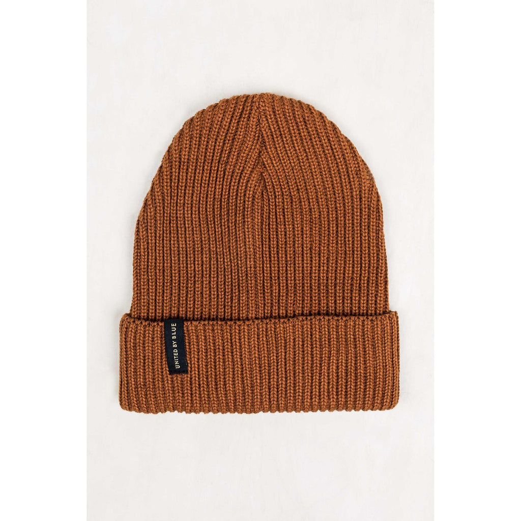 United By Blue Mariner Beanie-Apparel-United By Blue-Brown-GetOutland.com