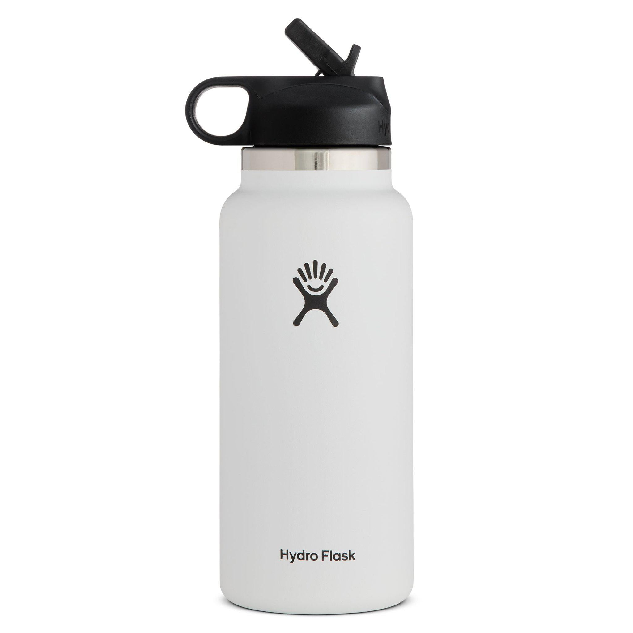 Hydro Flask 32oz Wide Mouth Water Bottle w/ Straw Lid