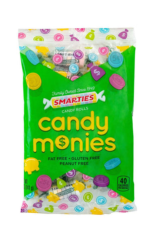 Smarties<sup>®</sup> Candy Monies <span>in a 5 ounce bag, case of 8 bags</span>