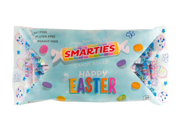 Easter Smarties® in a 12 ounce bag, case of 24 bags