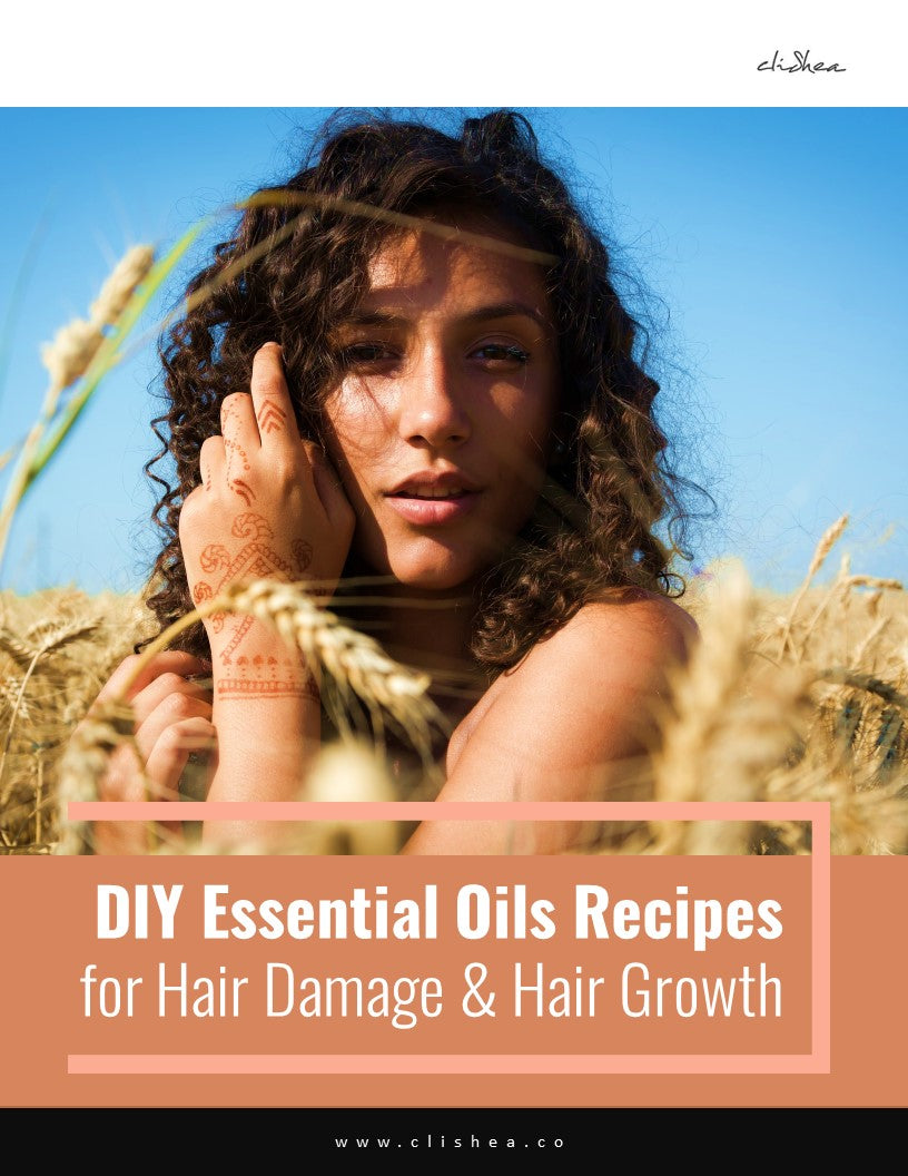 DIY Essential Oil Recipes for Hair Damage & Hair Growth - clishea.co