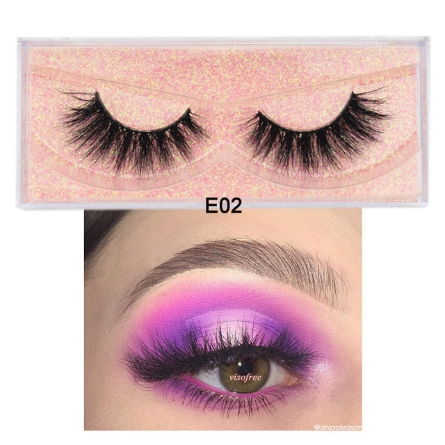 3D Cruelty Free Mink Lashes Set - clishea.co