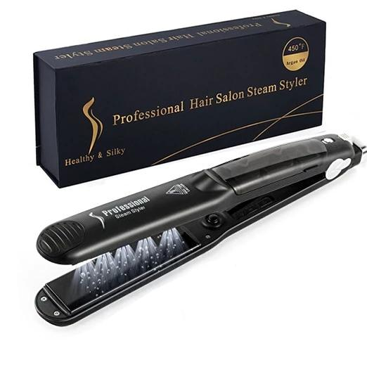 Professional 2-in-1 Hair Steam Styler - clishea.co