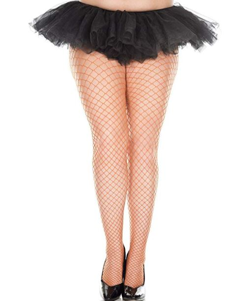 Mini Diamond Net Spandex Pantyhose