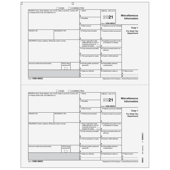 1099-MISC Payer State Copy 1