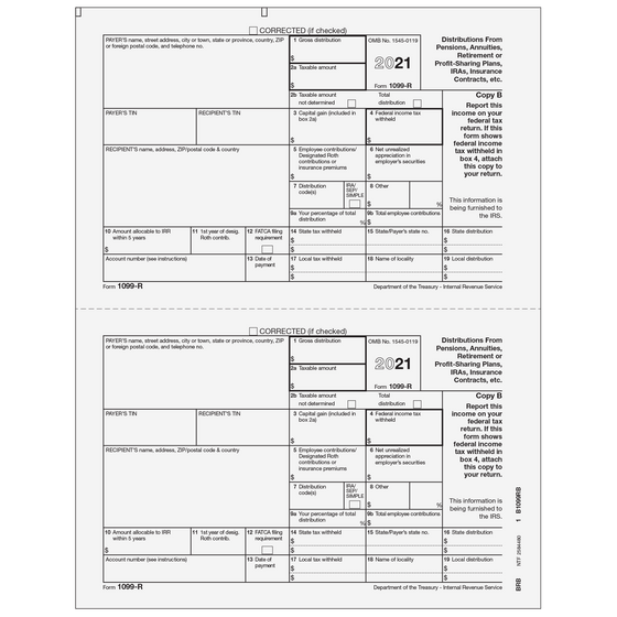 1099 Preprinted Laser Forms Tax Form Depot
