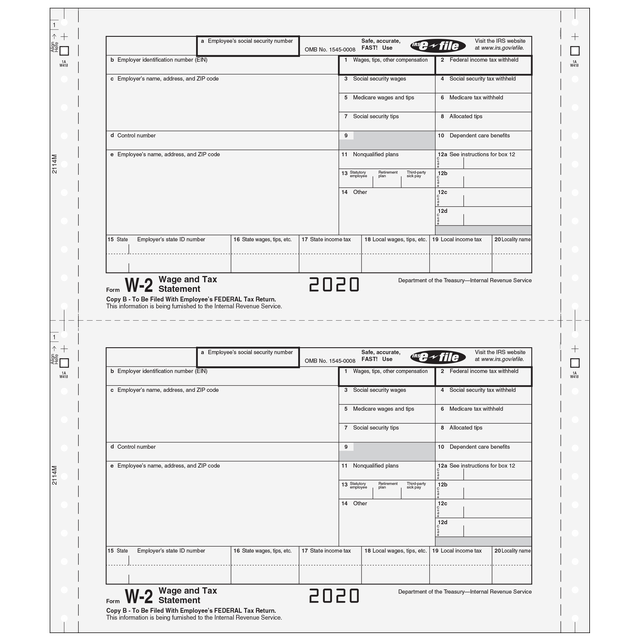 W-2 Twin-Set - 3pt - Employee Version