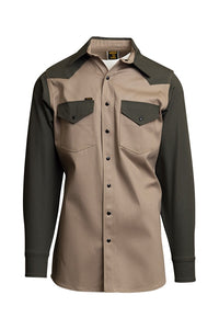 KG- 10oz. Non-FR Two-Tone Welding Shirts