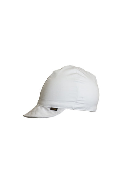 LAP-CW - 4-Panel Welding Caps-Solid White