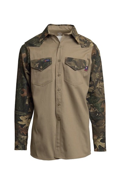 IKCS7 - 7oz. FR Two-Tone Western Shirts