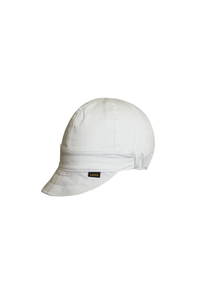 LAP-CFAW - 6-Panel OSFA Welding Caps-Solid White