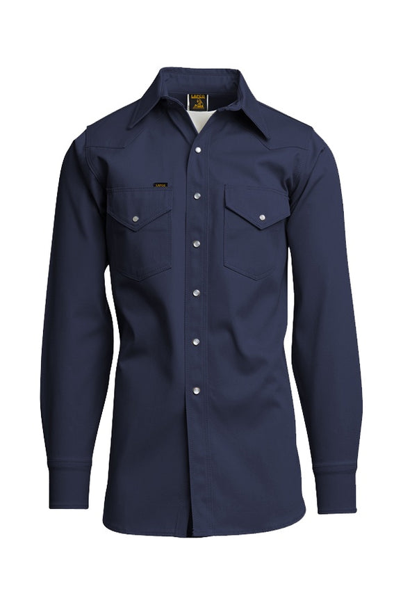 NVY- 8.5oz. Non-FR Mid-Weight Welding Shirts