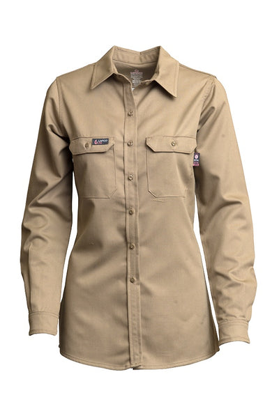 L-SFRACKH - 7oz. Ladies FR Uniform Shirts - UltraSoft AC