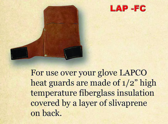 LAP-FCR- Leather Heat Guard - Right