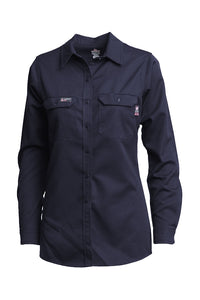 L-SFRACNY- 7oz. Ladies FR Uniform Shirts - UltraSoft AC