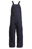 navy insulated fr bib overalls lapco fr