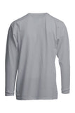 FRT-USHLSP6GY- FR Pocket T-Shirts | 6oz. 93/7 Knit - Gray