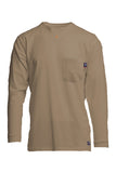khaki fr pocket t-shirt