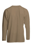 FRT-USHLSP6KH- FR Pocket T-Shirts | 6oz. 93/7 Knit - Khaki
