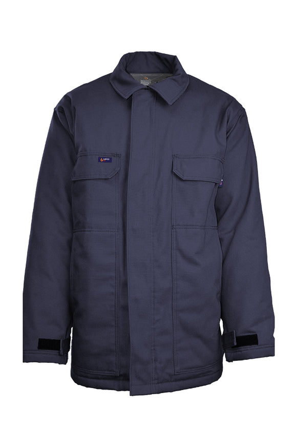 JCFRWS9NY - FR Insulated Chore Coats | 9oz. Cotton Duck – Navy