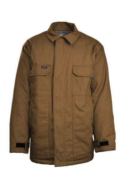 JCFRWS9BR - 9oz. FR Insulated Chore Coat with Windshield Technology - Brown