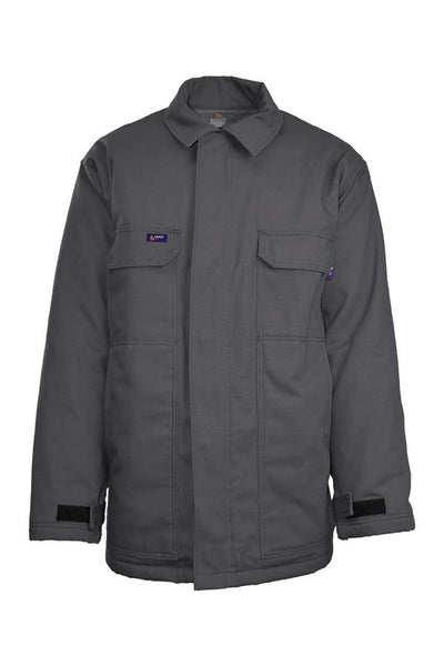 JCFRWS9GY - 9oz. FR Insulated Chore Coat with Windshield Technology - Gray