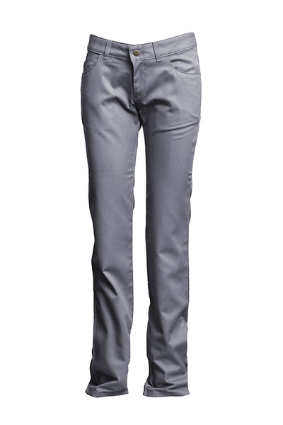 L-PFRACGY - 7oz. Ladies FR Uniform Pants Westex® UltraSoft AC®