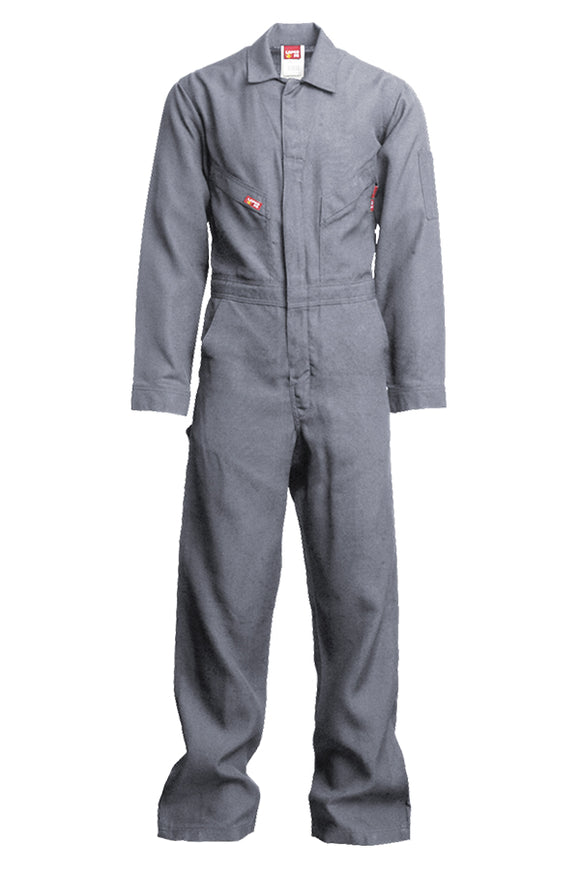 NXCD45GY-4.5 oz. FR DELUXE COVERALLS | Nomex IIIA