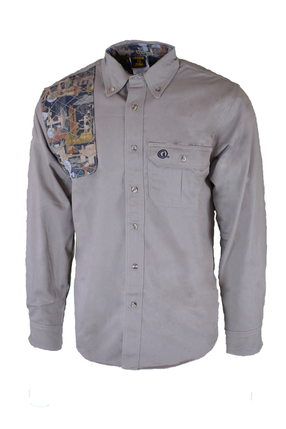 OFKSH - 7oz. Non-FR Oilfield Camo Shooter Shirt