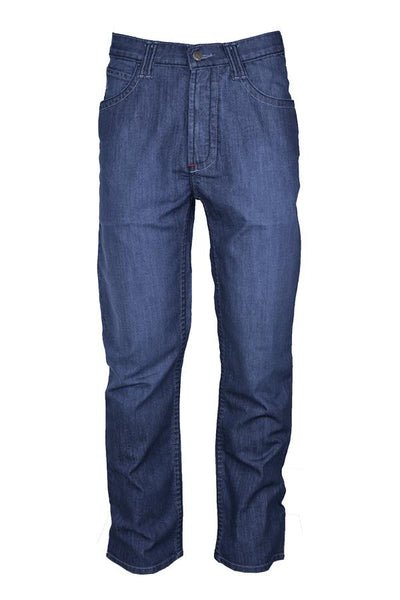 P-INDFC11 - 11oz. FR Comfort Flex Jeans for Men Cotton Blend