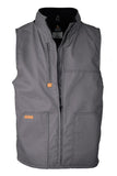 V-FRWS9GY - FR Fleece Lined Vest | with Windshield Technology